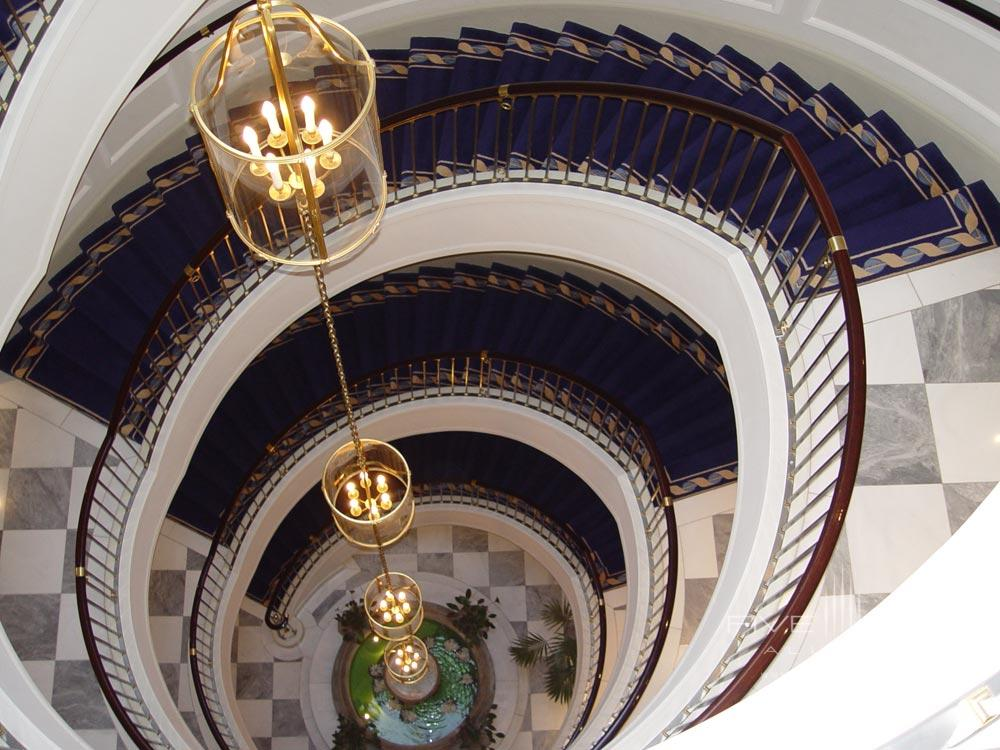 Staircase at Excelsior Hotel Ernst in CologneNorth-Rhein WestphaliaGermany