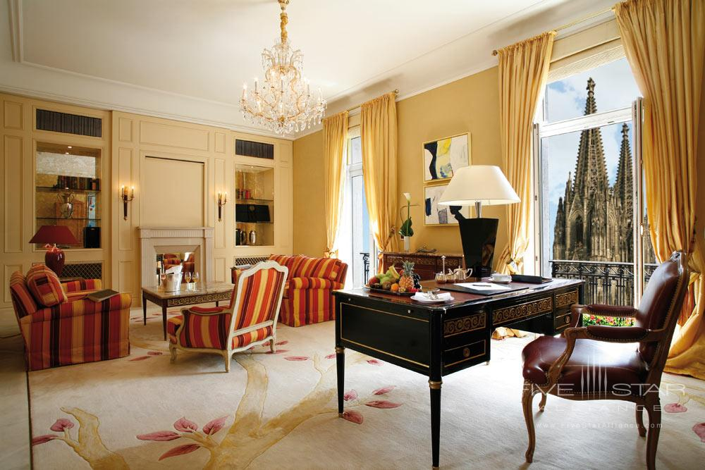 Excelsior Suite at Excelsior Hotel Ernst in CologneNorth-Rhein WestphaliaGermany