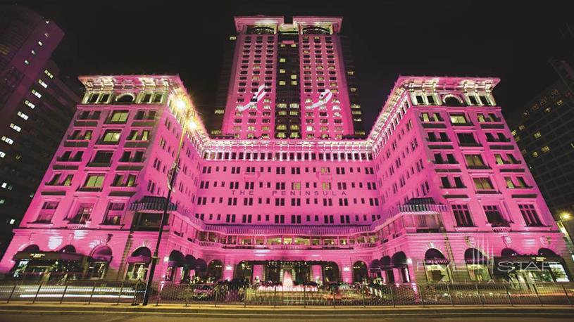 The Peninsula Hong Kong Goes Pink in October for Breast Cancer Awareness Month