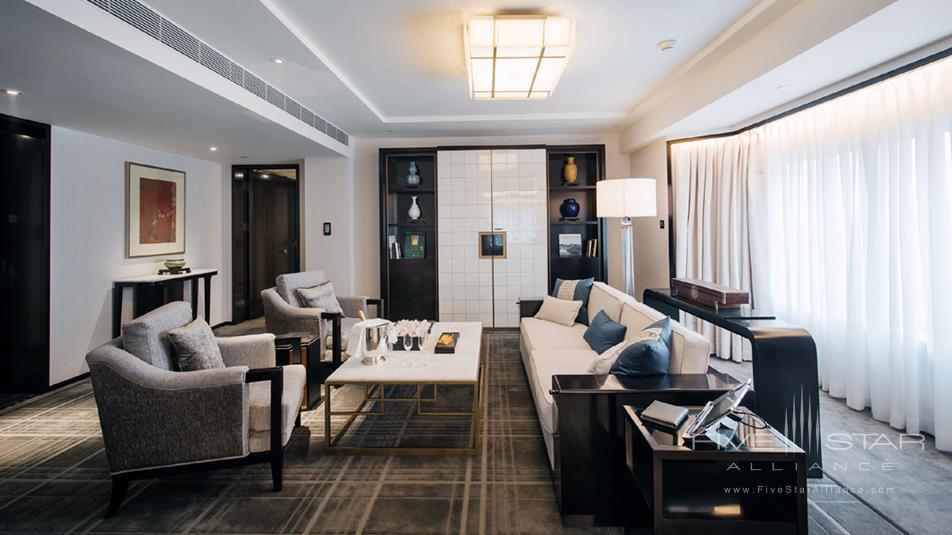 Suite Living Room at The Peninsula BeijingChina