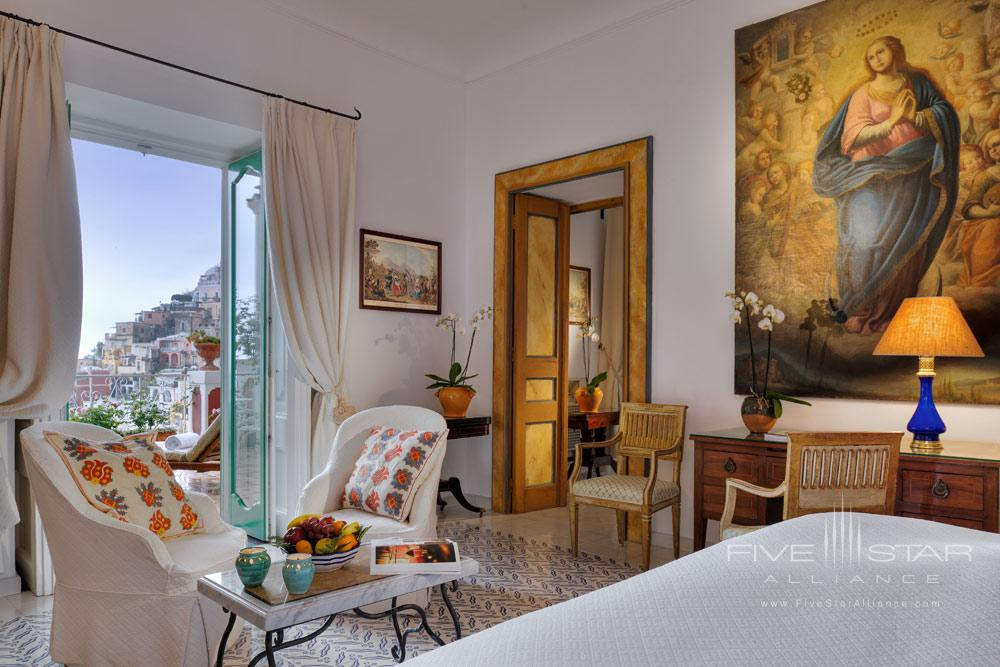 Guest Room Number 75 at Le Sirenuse, Positano, Italy