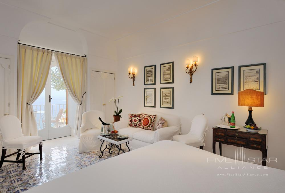 Guest Room Number 45 at Le Sirenuse, Positano, Italy