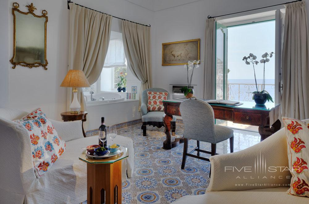 Guest Room Number 85 at Le Sirenuse, Positano, Italy
