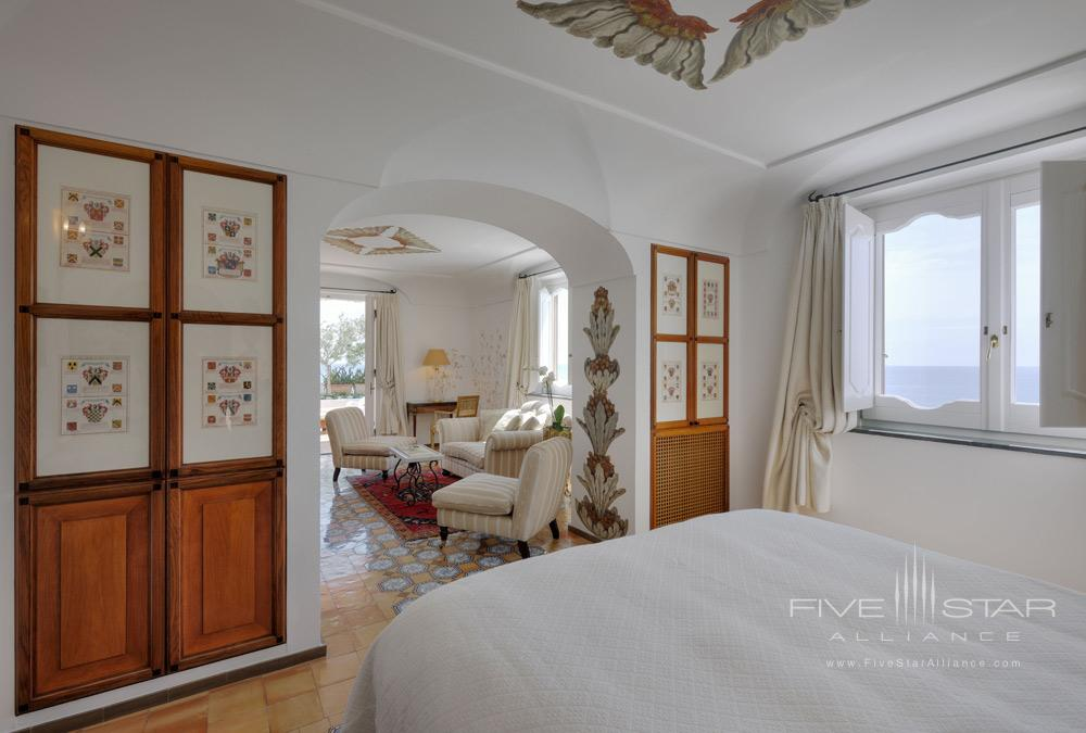 Guest Room Number 93 at Le Sirenuse, Positano, Italy