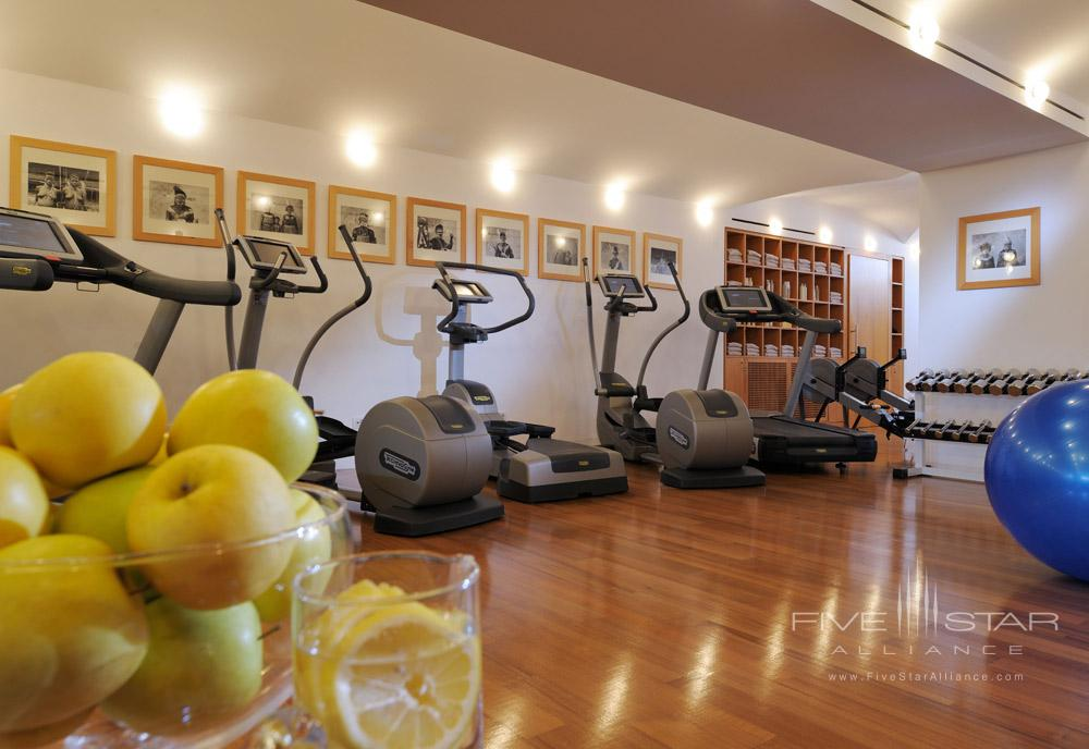 Fitness Center at Le Sirenuse, Positano, Italy