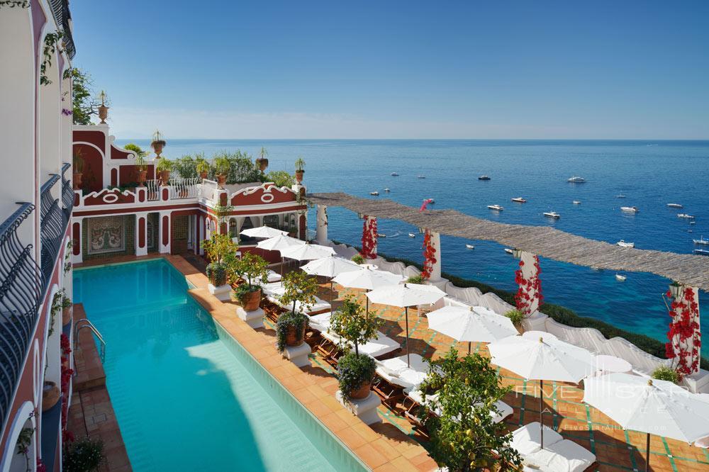 Pool at Le Sirenuse, Positano, Italy