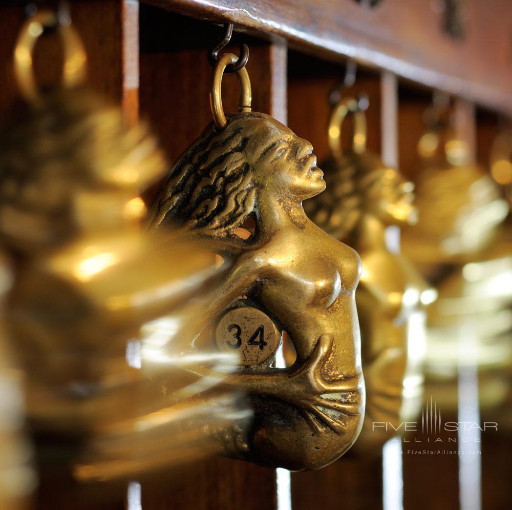 Room Key Details at Le SirenusePositanoItaly