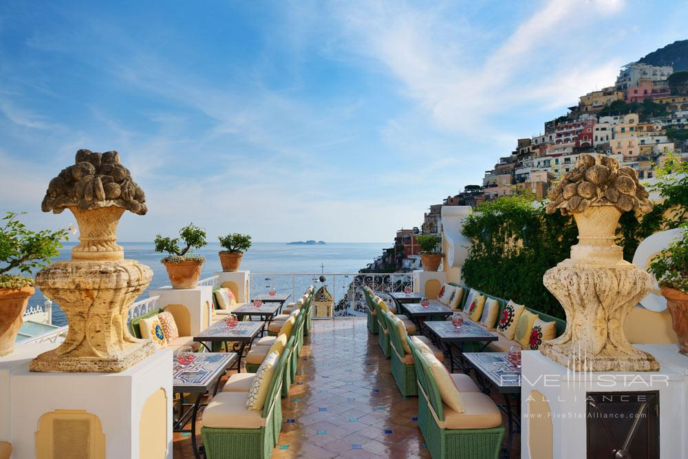 Oyster Bar at Le Sirenuse, Positano, Italy