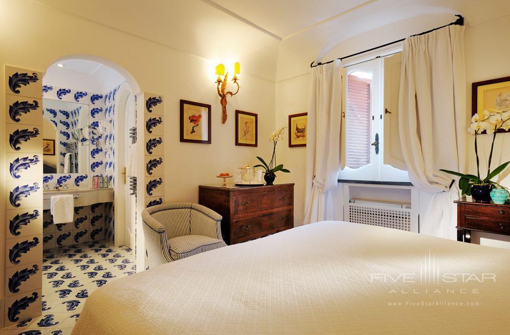 Guest Room 11 at Le Sirenuse, Positano, Italy