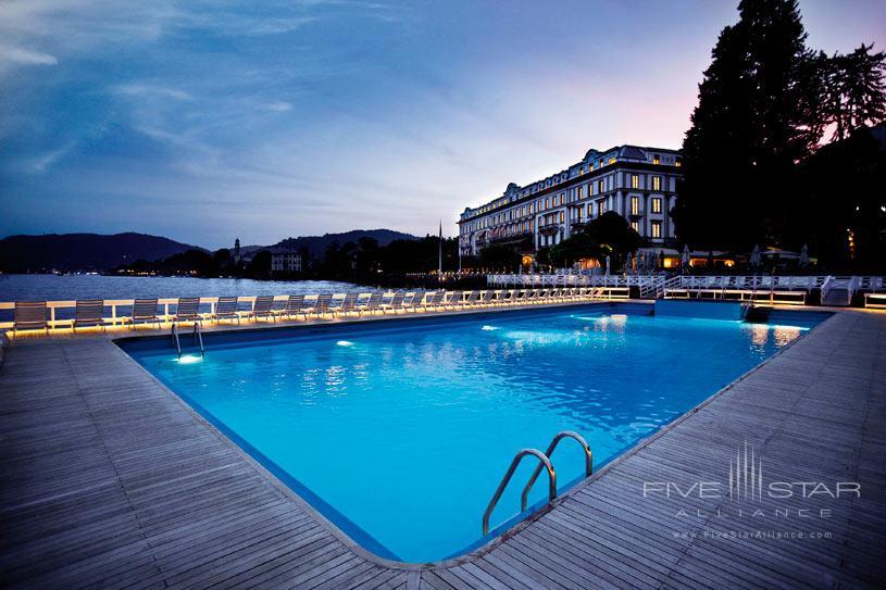 Swimming Pool at Villa d'Este Lake Como