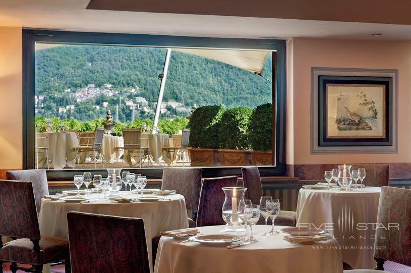 Grill Restaurant at The Villa d'Este Lake Como