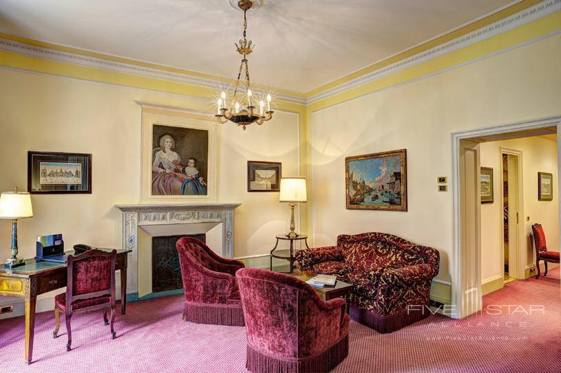 Exclusive Junior Suite Living Room at The Villa d'Este Lake Como