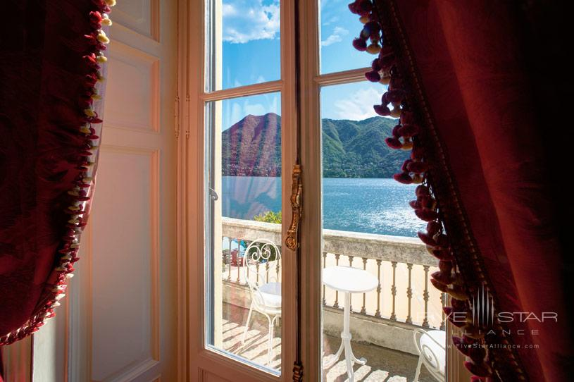 Lake View From The Room at The Villa dEste Lake Como