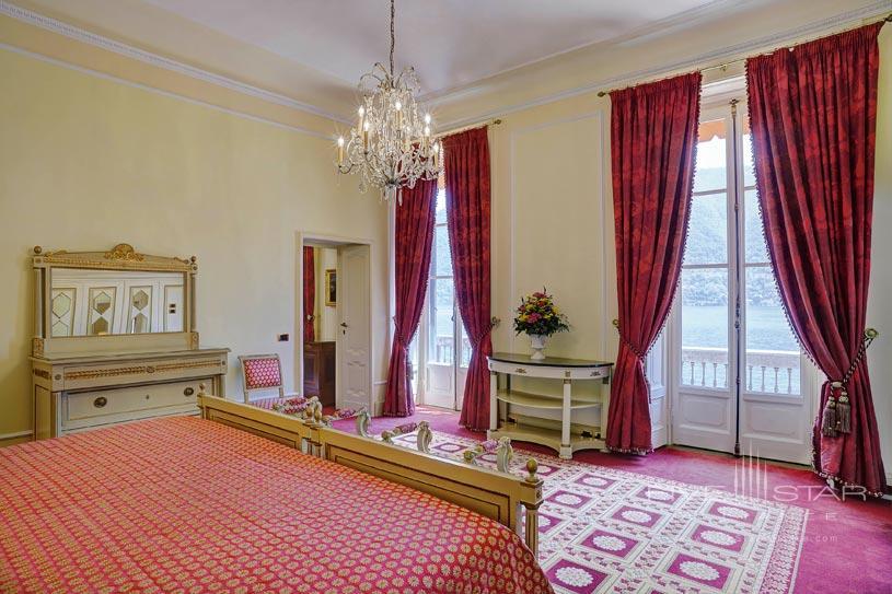 Presidential Suite Bedroom at The Villa d'Este Lake Como