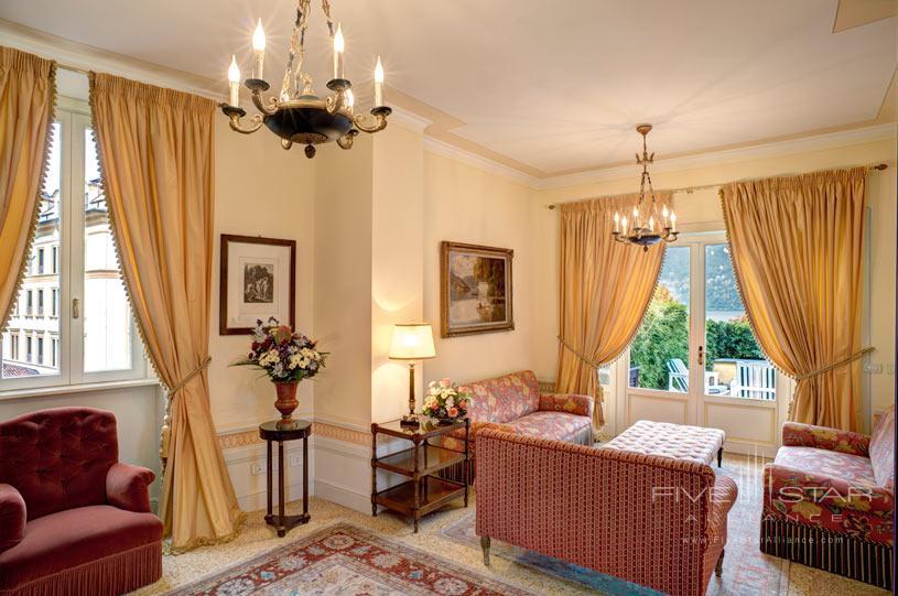 Sitting Room at Villa d'Este Lake Como