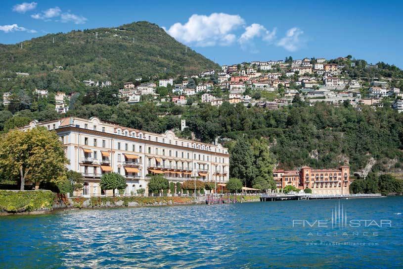 Villa dEste Lake Como View From The Lake