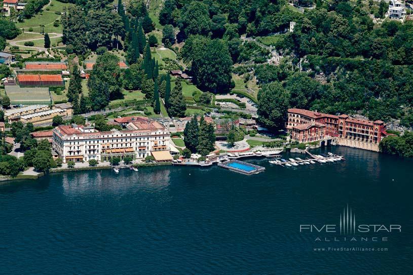 General View at Villa d'Este Lake Como
