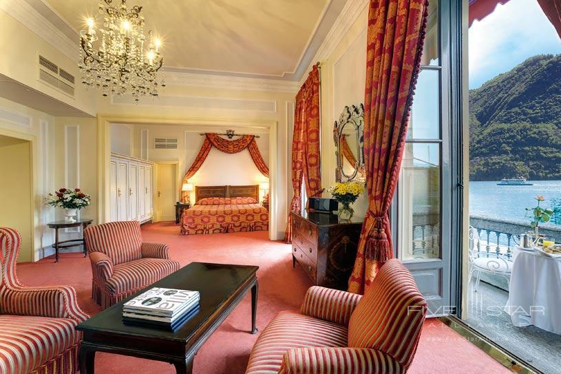 Junior Suite at Villa d'Este Lake Como