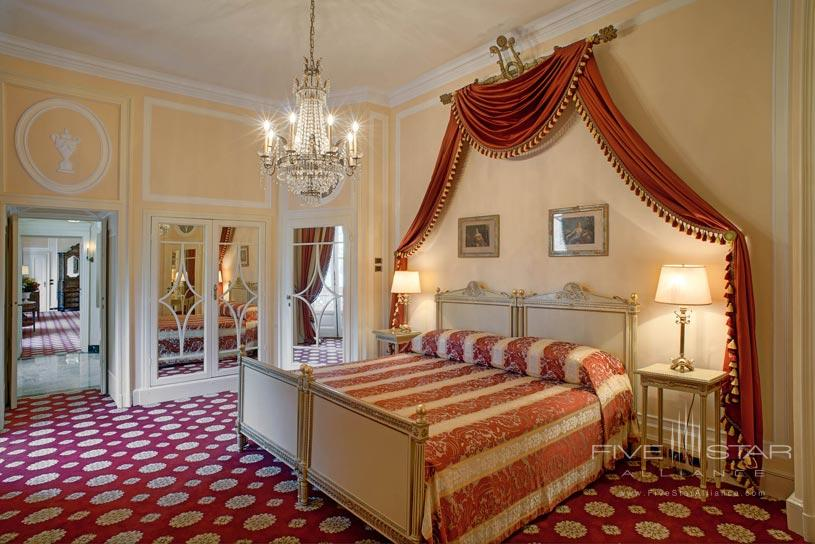 Cardinal Suite Bedroom at The Villa dEste Lake Como