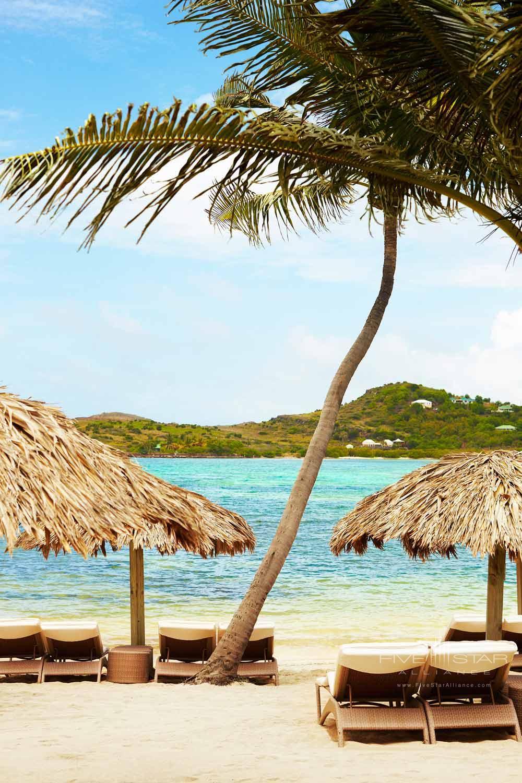 Beach at Guanahani Hotel