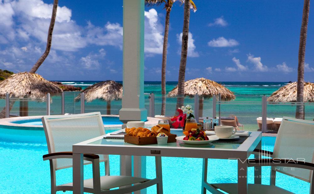 Pool at Guanahani Hotel