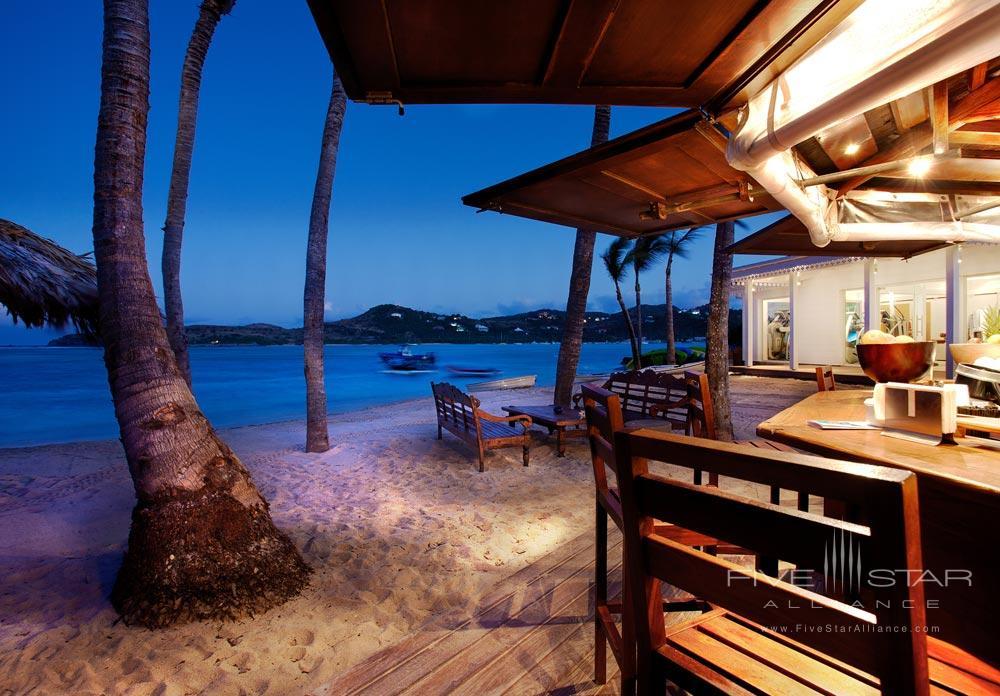 Beach Bar at Guanahani Hotel