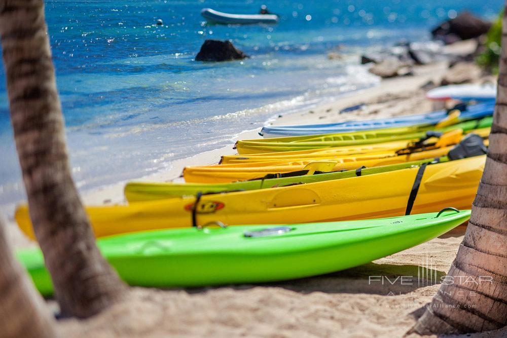 Kayaking at Guanahani Hotel