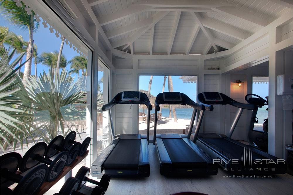 Fitness Center at Guanahani Hotel