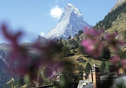 View from room towards Matterhorn