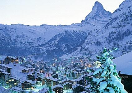 Zermatt in winter