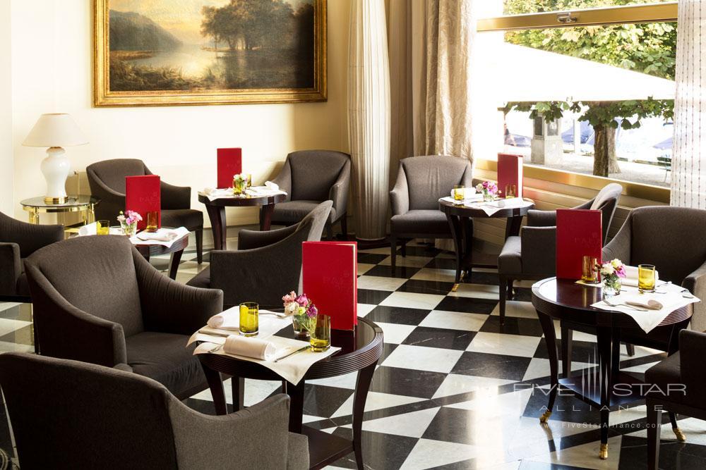 Lobby Dining at Palace LuzernSwitzerland