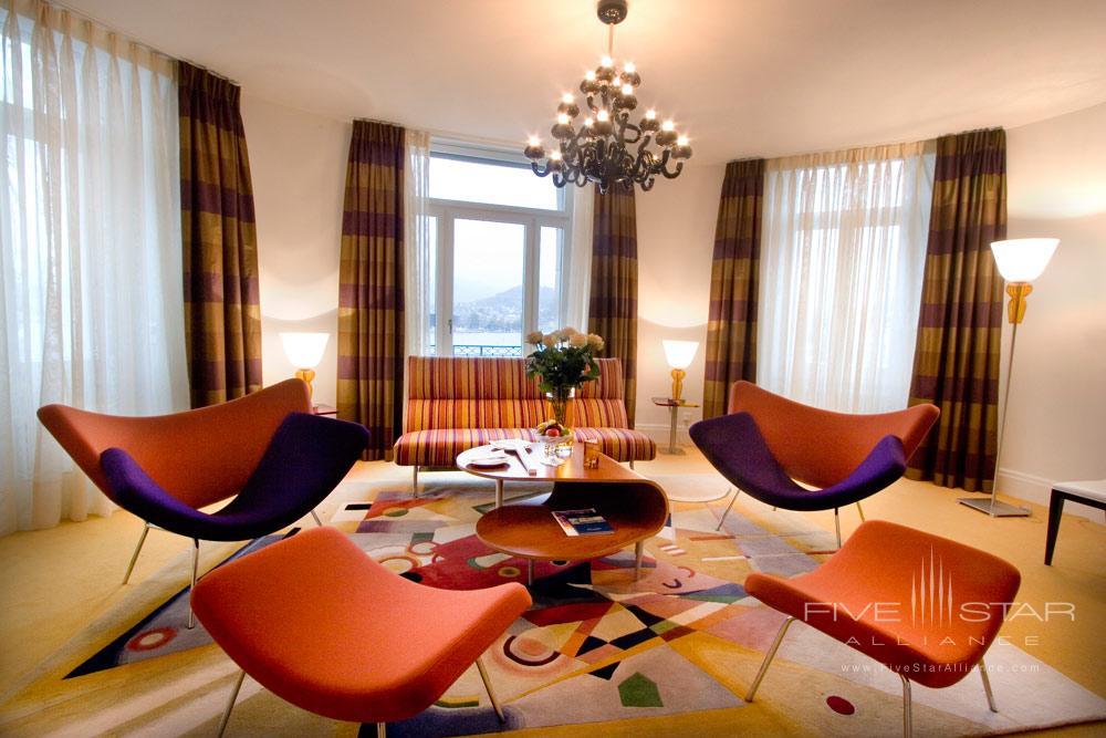 Lounge at Palace LuzernSwitzerland