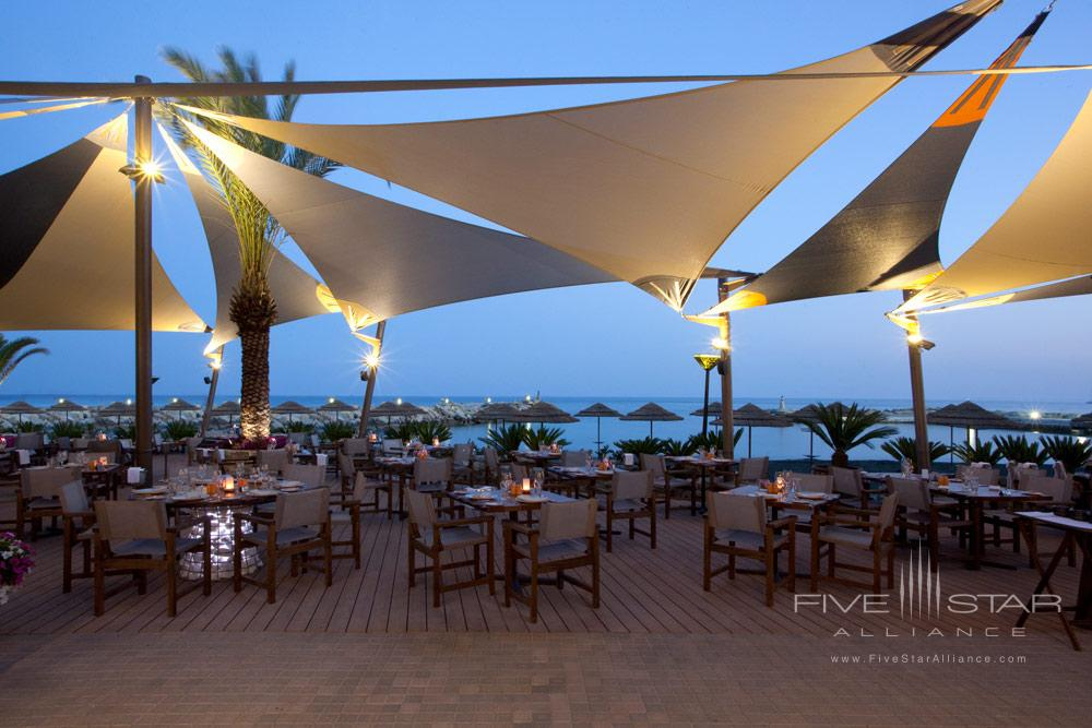 Dining at Amathus Beach HotelLimassolCyprus