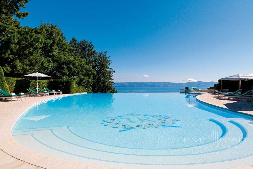 Outdoor PoolHotel Royal at Evian ResortFrance