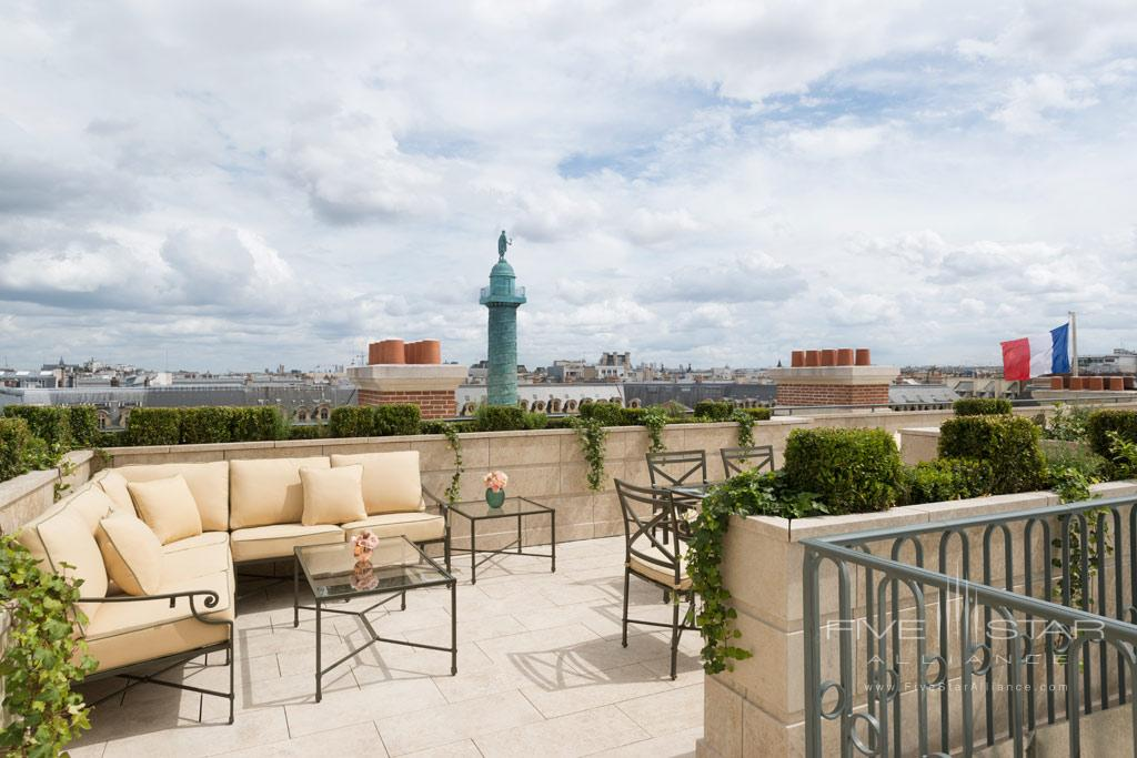 Suite Mansart Terrace at Ritz ParisParisFrance