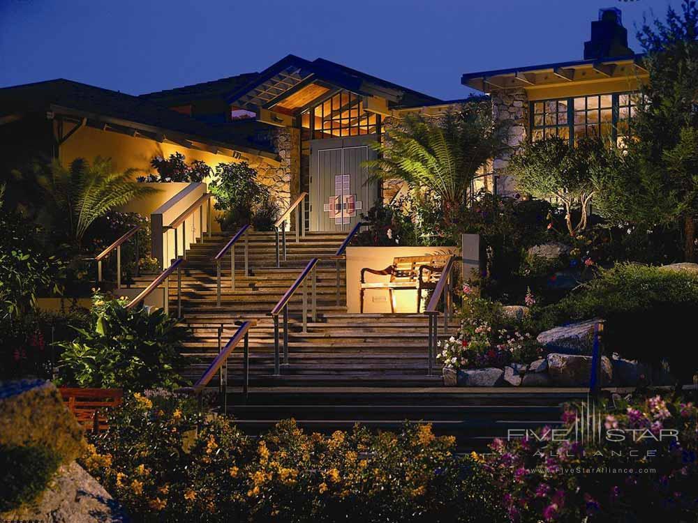 Entrance to Hyatt Carmel Highlands