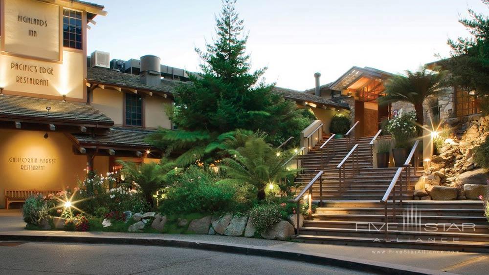 Entrance at Hyatt Carmel Highlands
