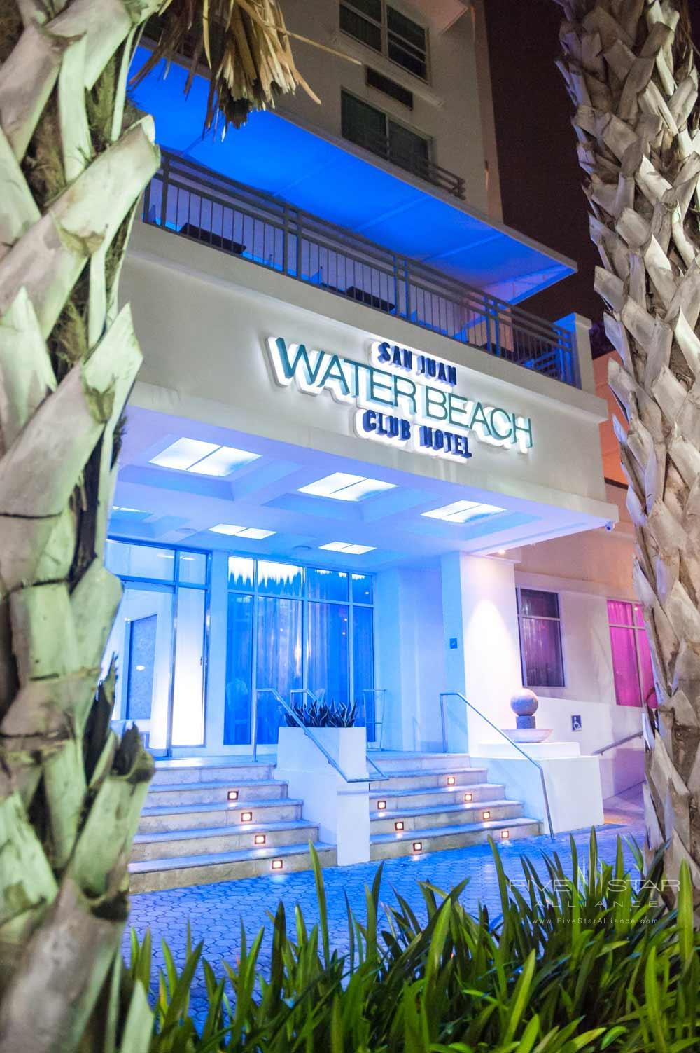 Exterior of San Juan Water and Beach Club Hotel