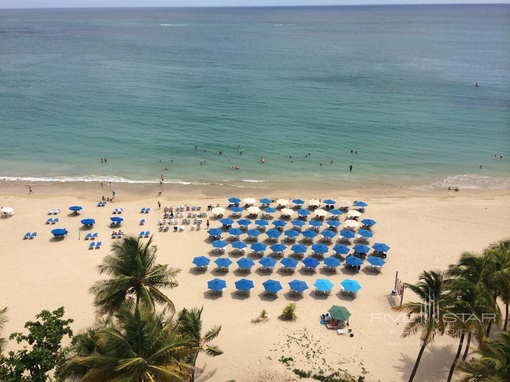 Beach at San Juan Water and Beach Club Hotel
