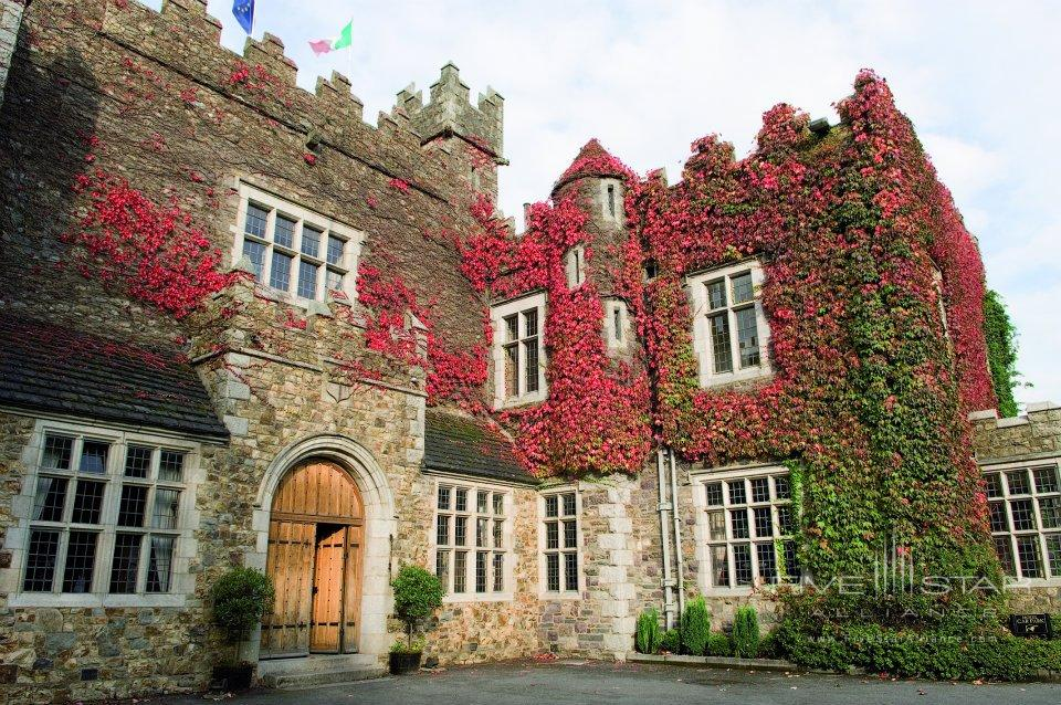 The exterior of Waterford Castle