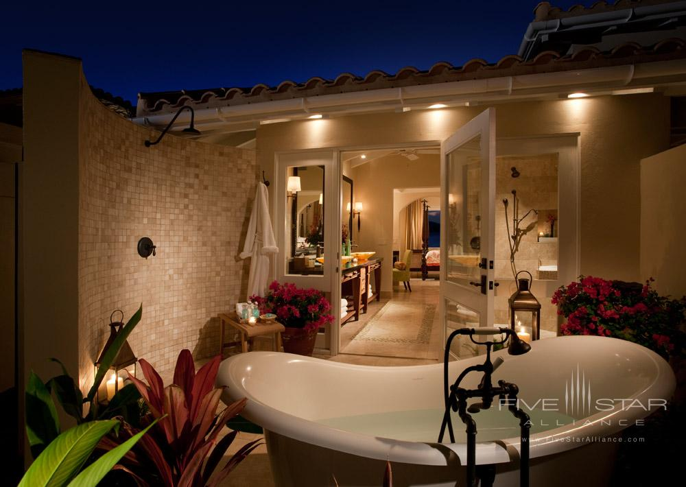 Jumby Bay suite outdoor bathSt JohnsAntigua And Barbuda