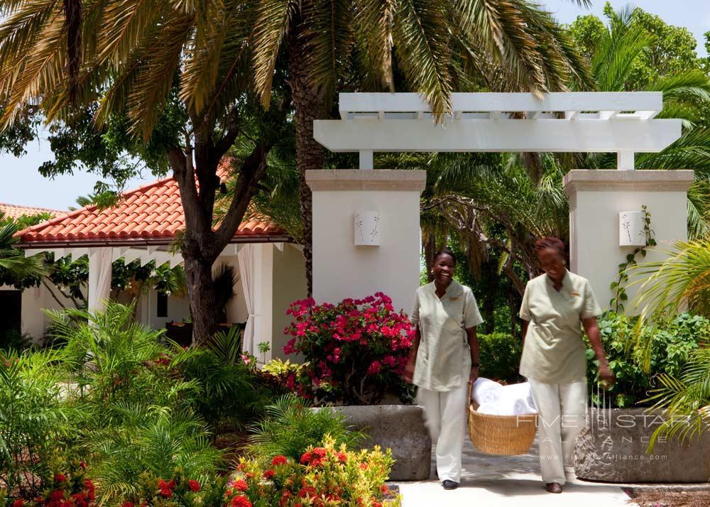 Jumby Bay spa entranceSt JohnsAntigua And Barbuda