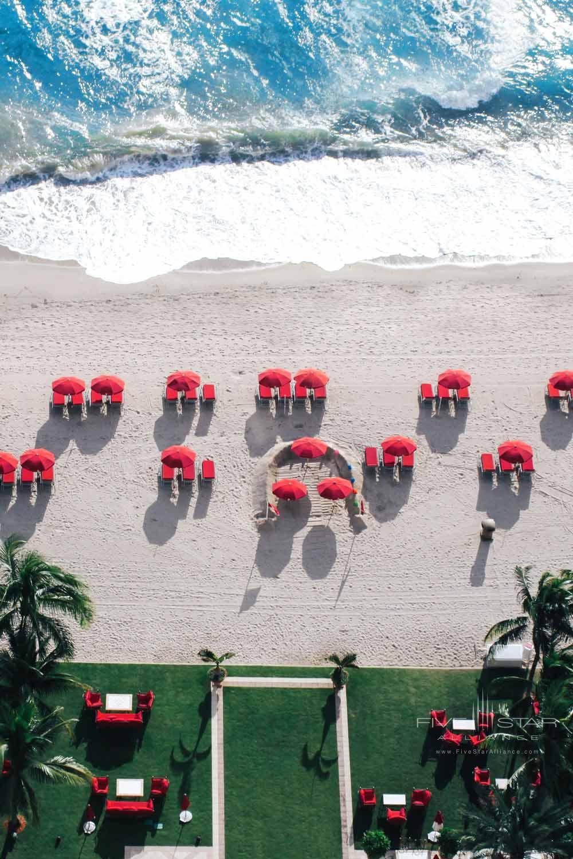 Beach at Acqualina Resort and SpaSunny Isles BeachFL