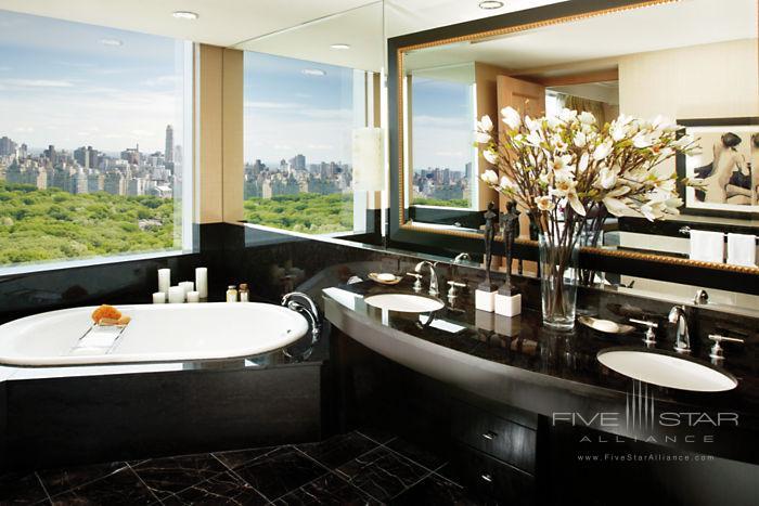 Mandarin Oriental New YorkOriental Suite Bathroom