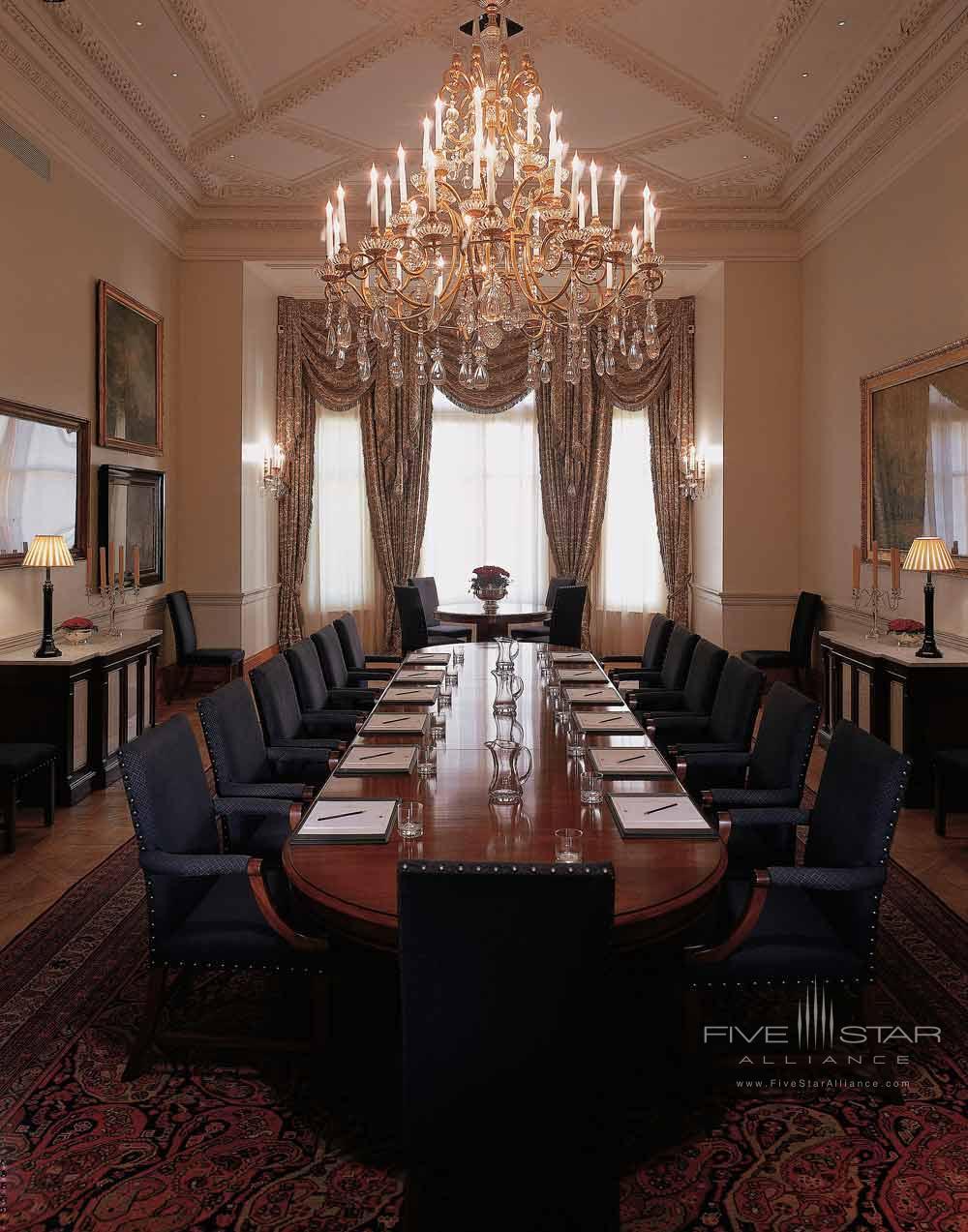 Rosebury Meeting Room at Mandarin Oriental Hyde Park