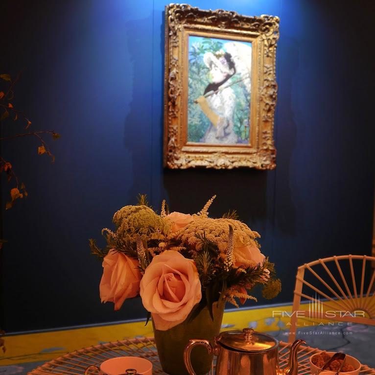 Manets Le Printempstemporarily on display at Mandarin Oriental Hyde Park