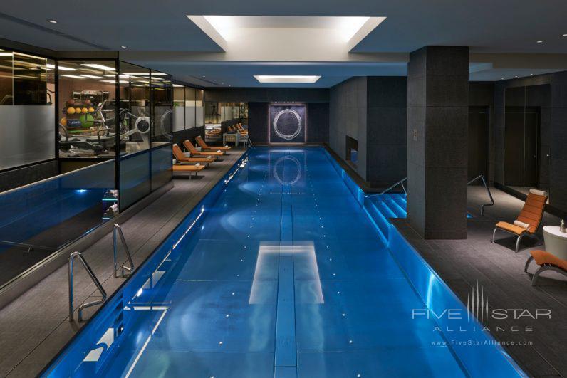 17 Meter Twin Lane Stainless Steel Pool at Mandarin Oriental Hyde Park