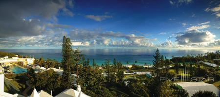 Panorama Views from Elbow Beach Club Resort in Bermuda