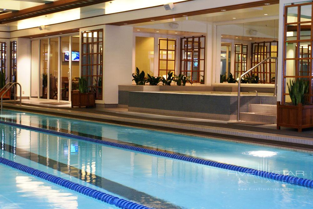 Indoor Pool at Boston Harbor Hotel, Boston, MA