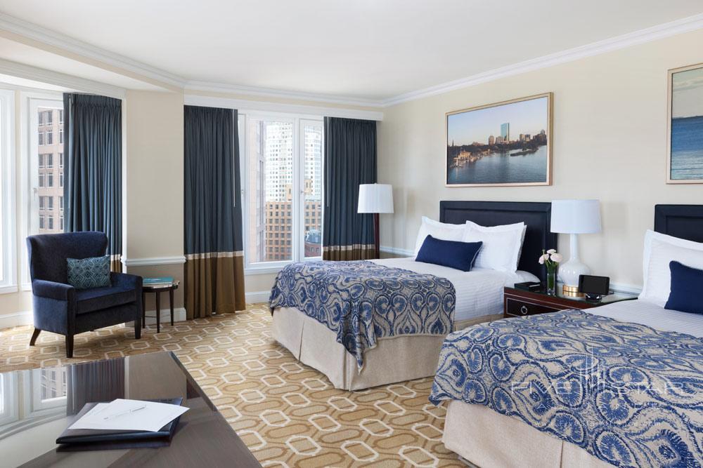 Double City View Guest Room at Boston Harbor Hotel, Boston, MA